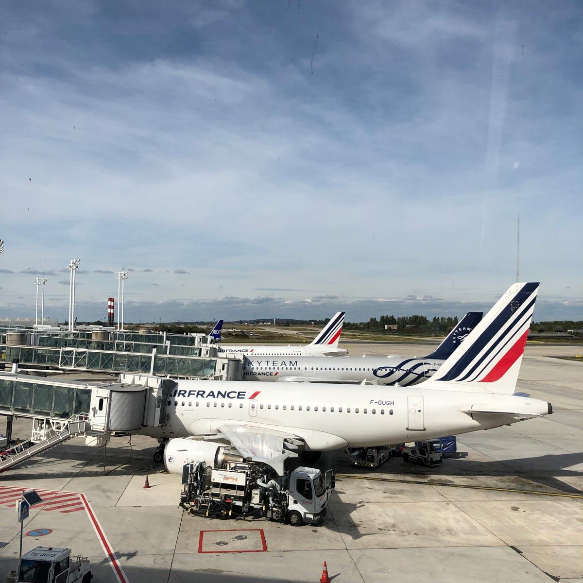 パリに到着?