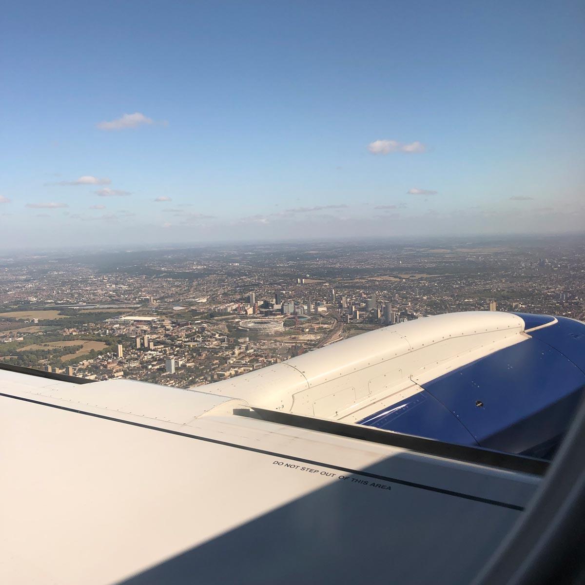 ロンドン到着!