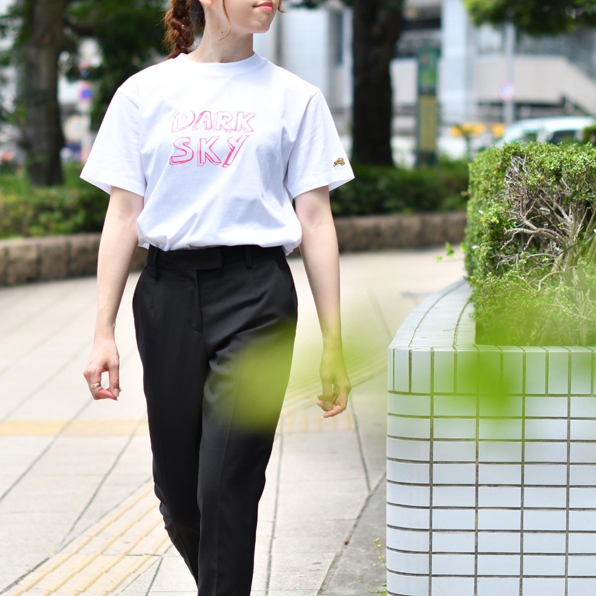 BELLA FREUD【ベラフロイド】半袖クルーネックTシャツ